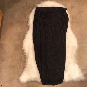 Anthropologie  size L Asymmetrical long skirt